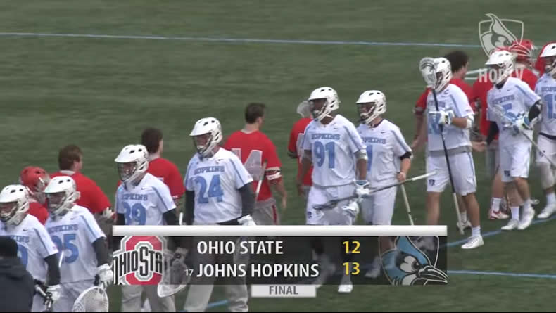 Hopkins Holds Off Ohio State, Petro Gets Win 175