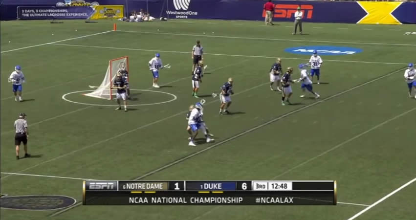 Two-Man Lacrosse, Offensive Strategy and Drills