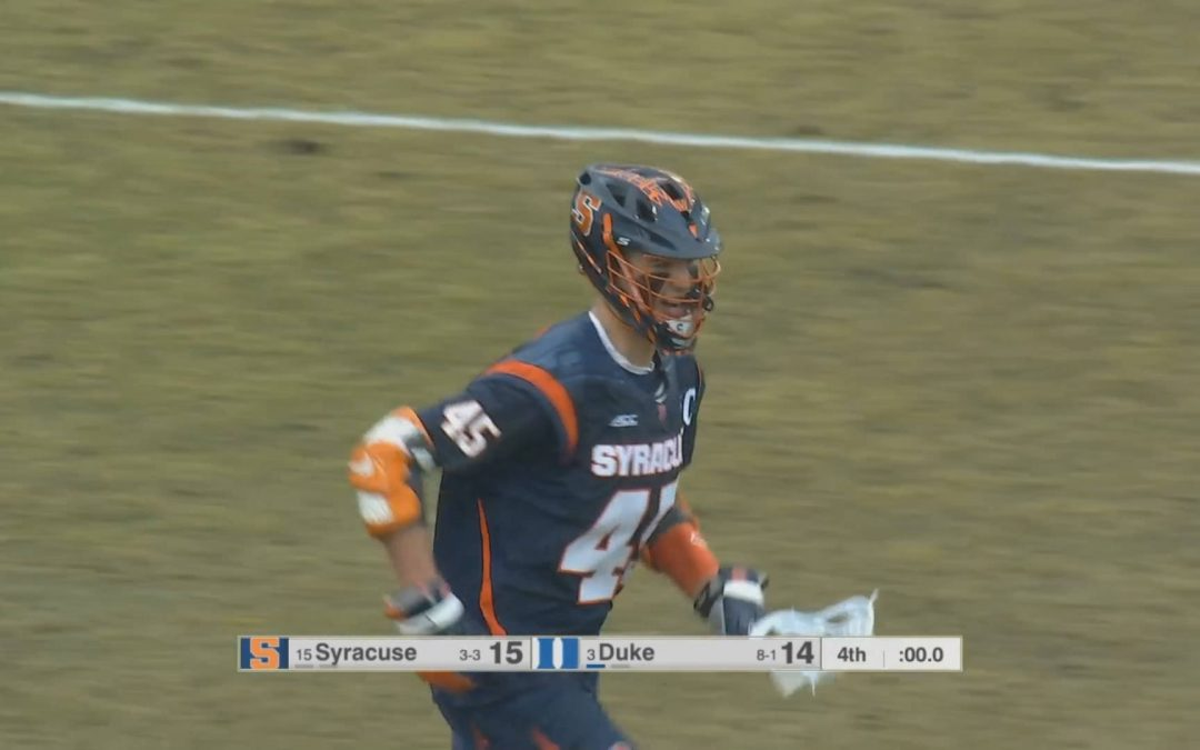 Syracuse Gets Much Needed Win Topping Duke In Durham