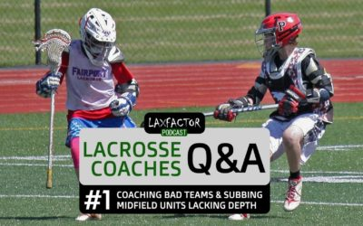 Lacrosse Coaches Q&A With Ted Hust #1:  Coaching Bad Teams & Tips For Midfield Units Lacking Depth